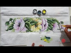 Papoulas em Tecido (Aula 79) - YouTube