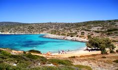 Aya Dinami is a beach completely unspoilt, named after the chapel of Holy power that is near the bay.