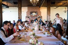 Love the look of these long tables at the reception.(http://www.7centerpieces.com/parisian-themed-waco-wedding-shelly-taylor/) | Shelly Taylor Wedding Photography (http://www.shellytaylorphotography.net/)