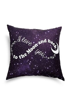 image of Love You to the Moon Pillow