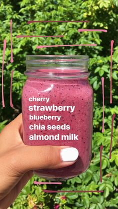 Yummy Smoothie Recipes, Vegan Smoothies, Yummy Smoothies, Smoothie Drinks, Healthy Detox, Healthy Drinks, Clean Eating Grocery List, Juices, Beverages