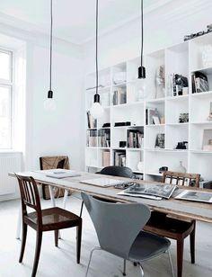 monochrome wohnung einrichten ideen wohnung einrichten dekoration minimalistisch wohnen arbeitsplatz arbeitszimmer