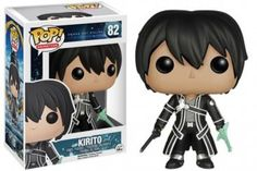 Your favorite characters from Sword Art Online are now super-cute vinyl figures! This Sword Art Online Kirito Pop! Vinyl Figure features the main character from the series. Standing about 3 tall, this figure is packaged in a window display box. Sword Art Online Kirito, Pop Vinyl Figures, Asuna, Kirito Kirigaya, Sao Ggo, Peluche Hello Kitty, Animation, Figurine Anime, Mega Anime