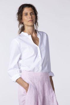 OSKA New York - Blouse Vesi 012 Types Of Trousers, Pullover, Hemline, Bell Sleeve Top, Ruffle Blouse, Spring Summer, Beauty, York, Collection