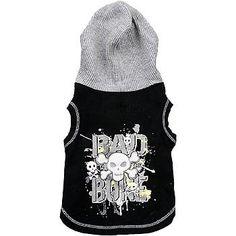 Petco Wag-a-tude Bad To The Bone Hoodie, XX-Small - http://www.thepuppy.org/petco-wag-a-tude-bad-to-the-bone-hoodie-xx-small/