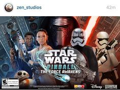 On instagram by pinballpodcast #arcade #microhobbit (o) http://ift.tt/1ZLXsDw from @zen_studios Star Wars two-pack coming to all the platforms next week! #pinball #pinballpodcast #zenpinball #videogames #gaming #starwars #swtfa #forceawakens #vpin #virtualpinball #disney  #coinop #mobile #xbox #playstation #apple #android #steam