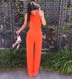 Orange is the new black.. Shop the Bondi Jumpsuit now in Boutiques and Online xx