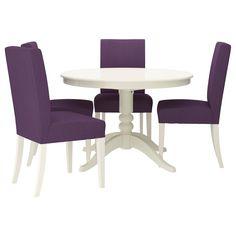 LIATORP/HENRIKSDAL Tafel en 4 stoelen - IKEA