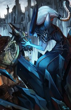 Olaf and Lissandra | Art-of-LoL