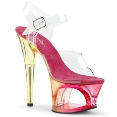 High Heels Pleaser Shoes Damenschuhe MOON 708MCT