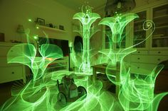 In-Camera Light Paintings by Hannu Huhtamo Sprout in the Darkness Like Alien Blooms | Colossal