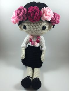 Carmen - Amigurumi Doll Crochet Pattern PDF