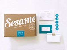 Sesame Gifts — The Dieline - Branding & Packaging