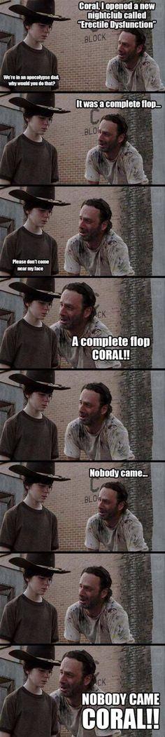 CORAL! The walking Dead Meme
