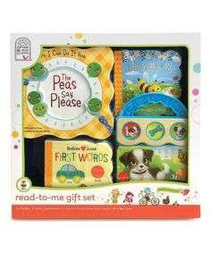 Cottage Door Press Yellow Read-to-Me Gift Board Book Set Autistic Children, Children With Autism, Sound Of Music Broadway, Cottage Door, Toddler Books, Little Puppies, Book Gifts, Baby Love, Holiday Fun