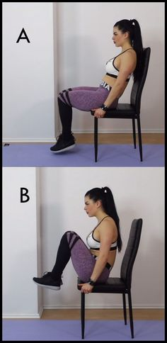 Chair Workout routines For Abs: eight Minute Tiny Waist & Flat Tummy Exercise - Fitness Flat Tummy Workout, Ab Workout Men, Belly Fat Workout, Chair Workout, Workout Plans, Tiny Waist Workout, Dumbbell Workout, Chair Exercises For Abs, Tummy Exercises