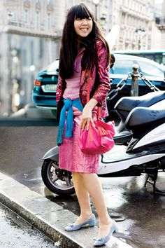 3d2fb6c8acf2 Pretty in Pink  Check out Fall s Must-Have Hue. Cool Street FashionStreet  Style ...