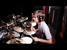 Damn this kid is Fast Luke Holland - The Mars Volta - Wax Simulacra Drum Cover