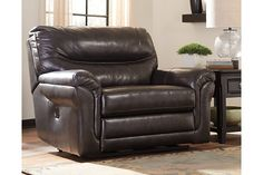 Metal Banetonville Oversized Power Recliner View 1