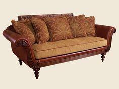 Island Estate - Plantation Leather Sofa (Lexington)