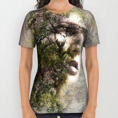 Tee shirt Double expo nature : T-Shirt, debardeurs par agacha