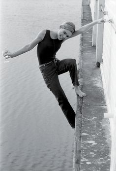 Edie Sedgwick, such physical strength .... Ahead of her time                                                                                                                                                                                 More