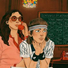 Etheline and Richie / The Royal Tenenbaums ☎️