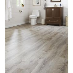 Lifeproof Sterling Oak 8 7 In X 47 6 Luxury Vinyl Plank Flooring 20 06 Sq Ft Case I966106l The Home Depot