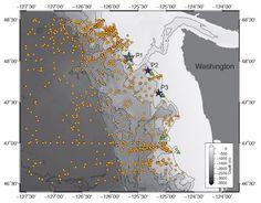 map of Washington coast