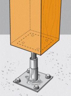 uniones metalicas madera - Buscar con Google