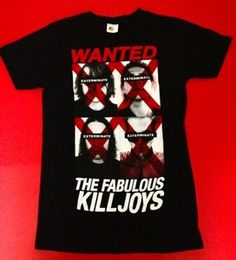 My Chemical Romance Fabulous Killjoys shirts in stock, plus many other MCR shirts!