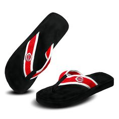 Because nothing says summer more than these Cincinnati Reds Mesh Flip Flops. $19.99