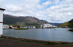 Seydisfjordur - The gateway to FAroe Islands, Denmark and the rest of Europe ... Take your car and drive on board Norröna, the car ferry....Stops every week during the summer time...