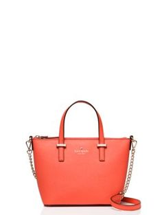 Kate Spade New York Cedar Street Harmony Crossbody Over The Shoulder Bags, Beautiful Handbags, Kate Spade, New York, Tote Bag, Street, Mini, Classic, Leather