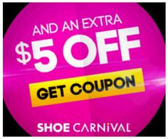 NEW Back to School Shoe Carnival Coupon!!