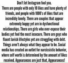 This goes for ANY social media platform girlie's. Nothing beats a real conversation, a real hug and a REAL friend. Please remember this ALWAYS