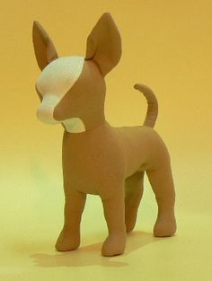 Toy Chihuahua Dog Mannequin