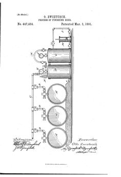 Patent US447484 - Process of finishing beer - Google Patents