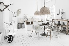 A light Scandinavian meets industrial chic interior is transformed into a tribal chic space. Find beautiful tribal decor and African inspired accessories that will help transform any simple interior scheme into an earthy eclectic living space.