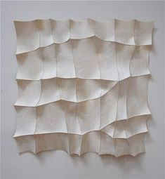 Chung-Im Kim, sulbing, 2012, hand stitched industrial felt, silkscreen printed