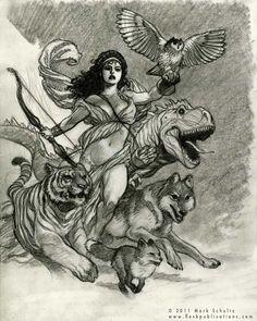 Mark Schlutz - Artemis Comic Art