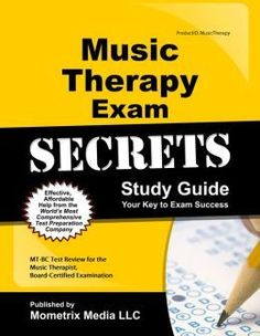 I have been meaning to take the time to write a post about my experience taking the CBMT (Certification Board for Music Therapists)exam...