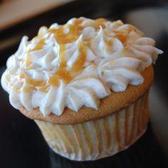 Caramel Apple Gourmet Cupcake