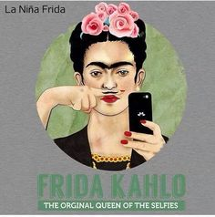 The Original Queen Of The Selfies iPhone & iPod Case by _Artsyfartsy