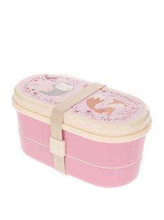 Cutie roz pentru gustări Sass & Belle cu model animale #magazindefashion