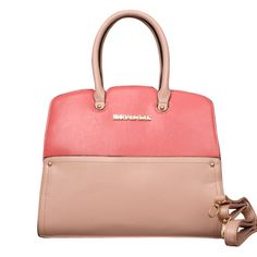 Michael Kors Reese Match Medium Pink Satchels Can Get You Into A World Full Of Fashion In This Rushing World!