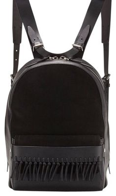 e7d8c5e21eba 3.1 Phillip Lim Black Leather Suede Backpack. Get one of the hottest styles  of
