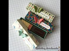 Stampin' Up! Teeny Tiny Just For You Treat Box - YouTube