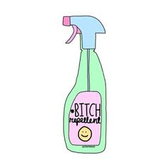 bitch, repellent, and overlay image Tumblr Drawings, Cute Drawings, Simple Drawings, Tattoo Drawings, Png Tumblr, Overlays Tumblr, By Any Means Necessary, Tumblr Stickers, Tumblr Wallpaper
