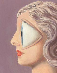 René Magritte, La femme du maçon Detail via Cea. Rene Magritte, Max Ernst, Wassily Kandinsky, Roy Lichtenstein, Conceptual Art, Surreal Art, Yves Tanguy, Magritte Paintings, Jean Arp